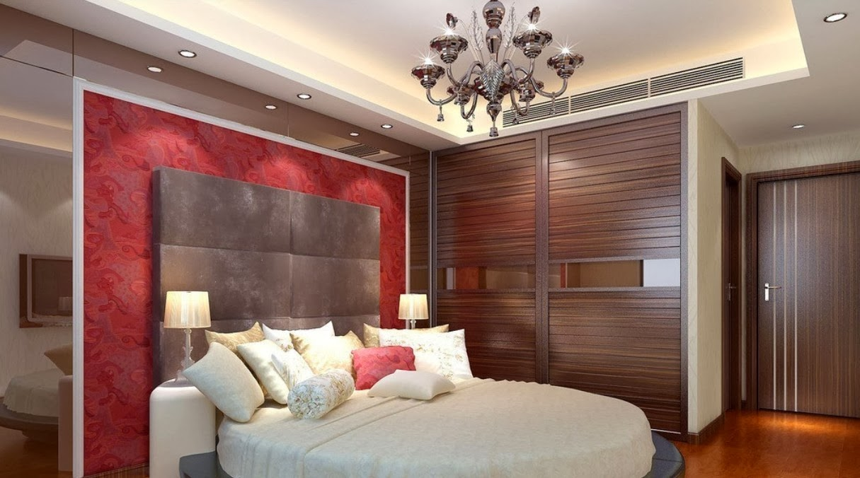 Ceiling design ideas for small bedrooms 10 designs for Compact bedroom