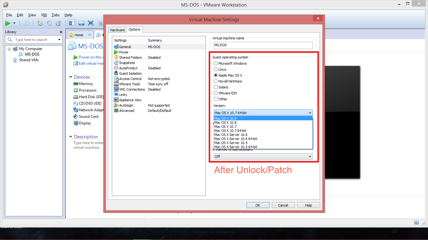 VMware Unlocker to Run Mac OS X Guests in Windows 7/8/8 1