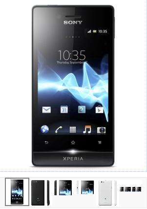 LIVE OFFERS: Sony Xperia miro Smart Phone Mobile - Review ...