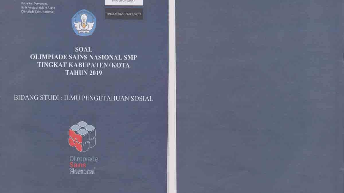 Soal Osn Ips Smp Tingkat Kabupaten Tahun 2019 Dan Pembahasan