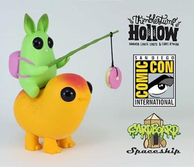 San Diego Comic-Con 2016 Exclusive Thimblestump Hollow Vinyl Figures by Chris Ryniak x Amanda Louise Spayd x Cardboard Spaceship