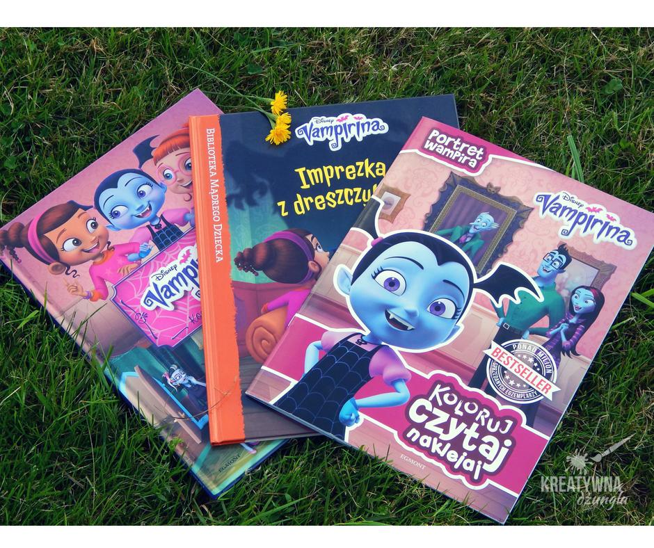 ksiązki dla dzieci o wampirach, potworkach