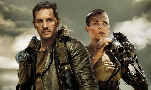 Tom Hardy et Charlize Theron dans Mad Max Fury Road, de George Miller (2015)