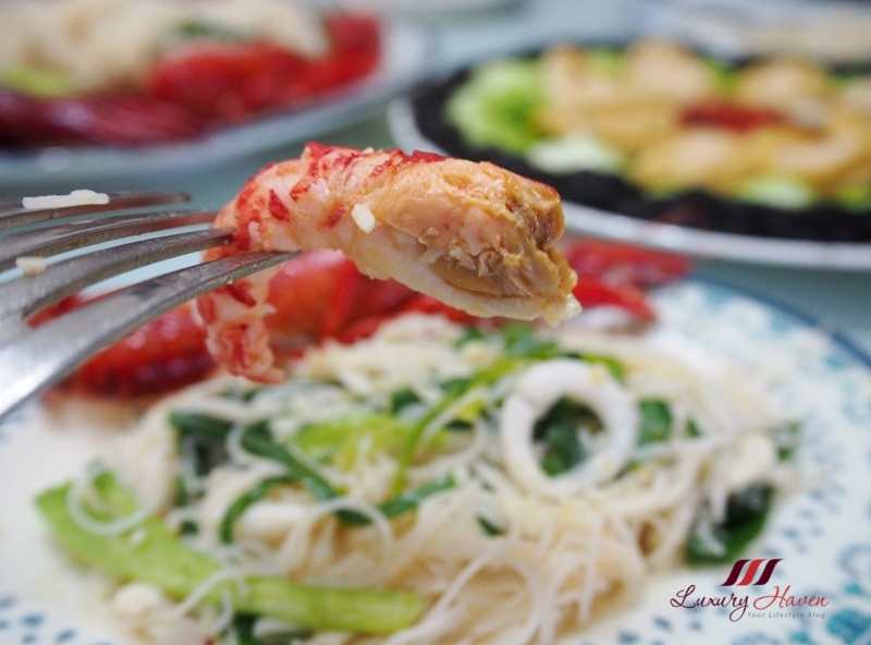 mouth watering emerald crawfish beehoon recipe