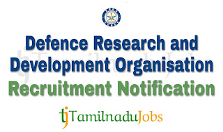 DRDO Recruitment notification of 2018, govt jobs for ITI
