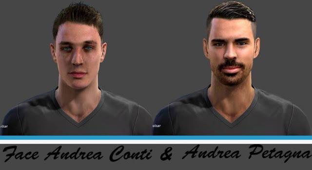 Andrea Petagna Face PES 2013