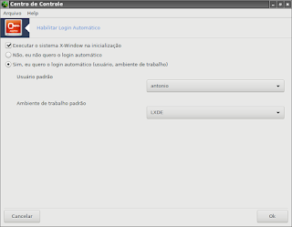 Login do Pc Linux