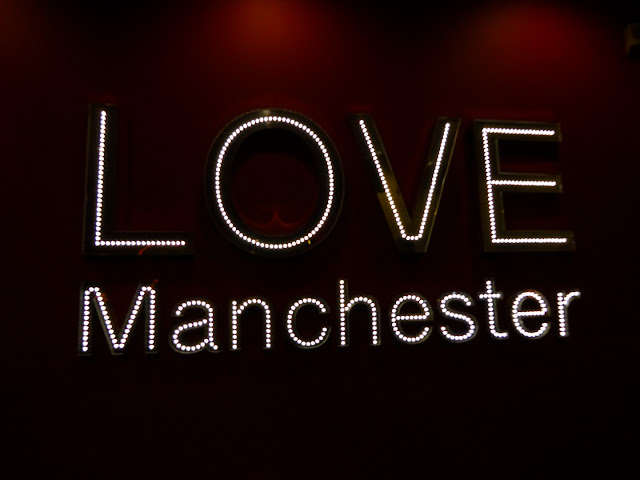 Love Manchester Light Sign TK Maxx