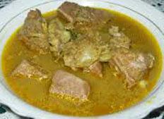 Resep praktis (mudah) kuah beulangong spesial (istimewa) khas aceh enak, sedap, gurih, nikmat lezat