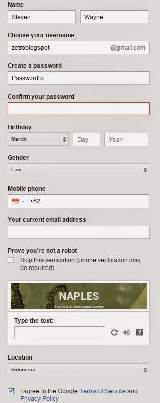 Cara Membuat Gmail Terbaru 2015