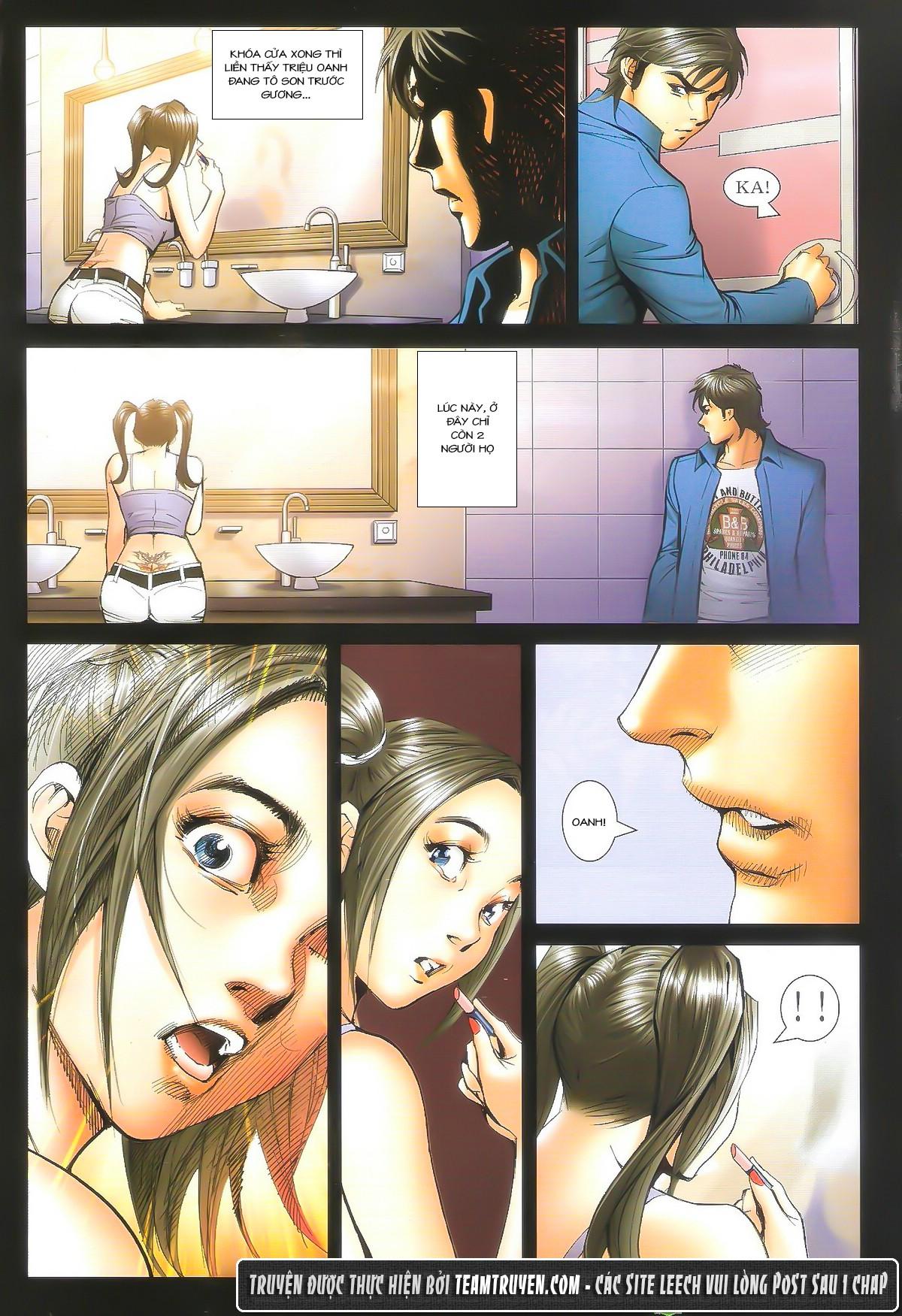 Người Trong Giang Hồ chapter 1604: hồng hưng vs trường lạc trang 19