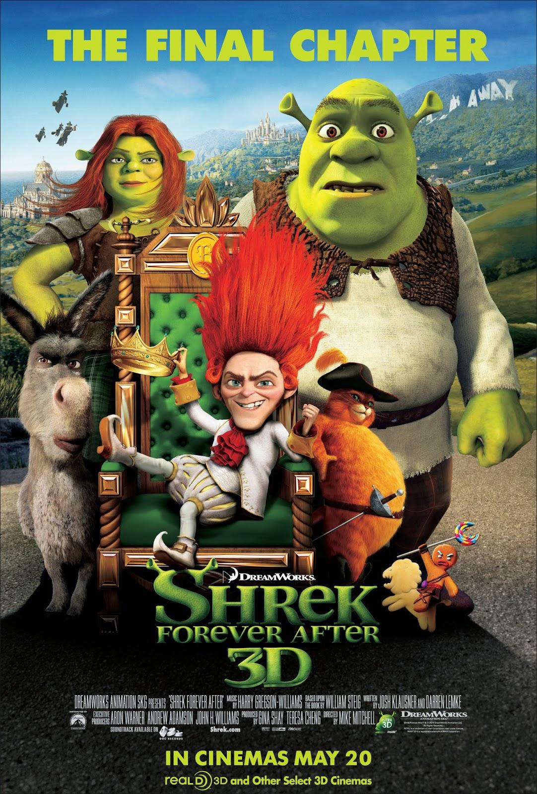Shrek 4 Forever After เชร็ค สุขสันต์ นิรันดร [HD][พากย์ไทย]
