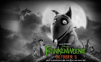 Frankenweenie movie directed by Tim Burton