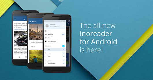 The all-new Inoreader for Android is here!
