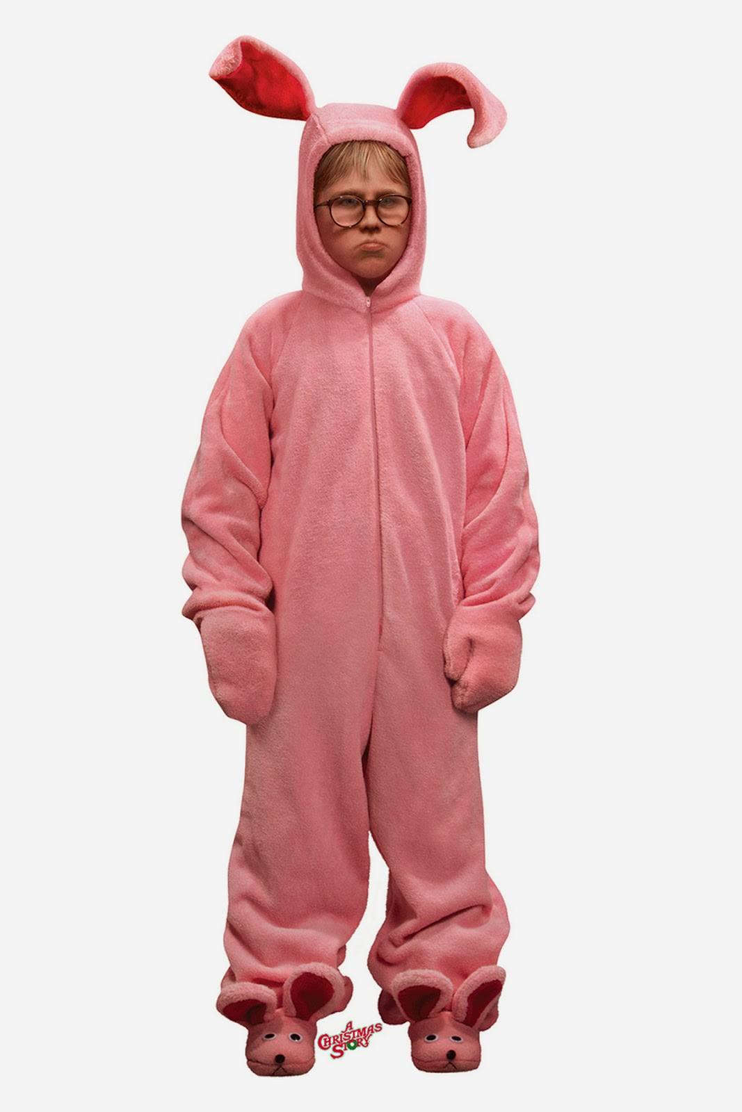 Lamp From Christmas Story Costume.Christmas In July Ralphie S Bunny Suit