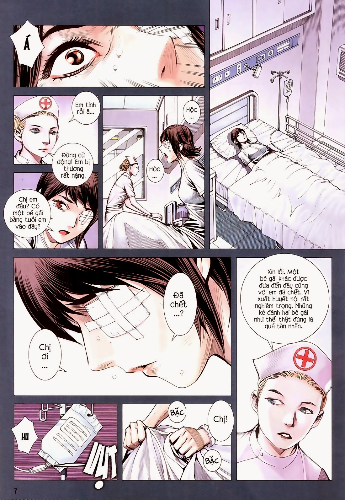 Đại Quân Phiệt chap 14 trang 7
