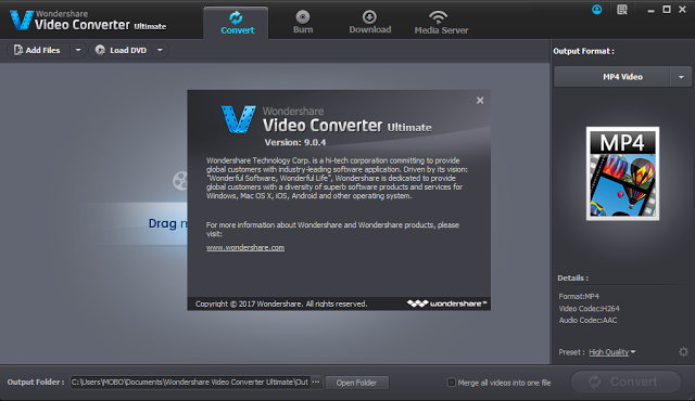 Wondershare Video Converter Ultimate 9 Crack Free Download