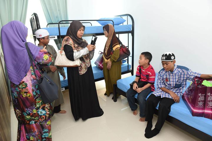 Kemudahan asrama di Maahad Tahfiz Ismail Puncak Alam