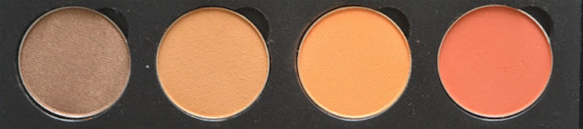 Makeup Geek Eyeshadow Swatches Pretentious Desert Sands Chickadee Morocco