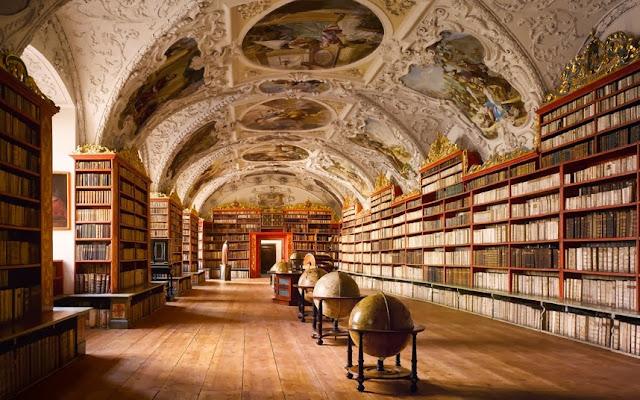 Biblioteca do Monastério de Strahov - Praga, República Checa