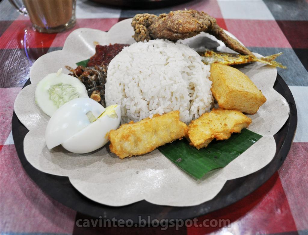 Entree Kibbles: Crispy Fried Chicken Nasi Lemak @ Hot ... - photo#45