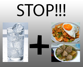 Berhenti konsumsi minuman dingin setiap bersantap makan!