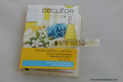 decleor serum huile serum