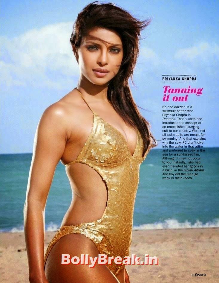 , Top Bollywood Actresses Bikini Pics - Sonam, DP, PC, Bips, Jackie & Anushka