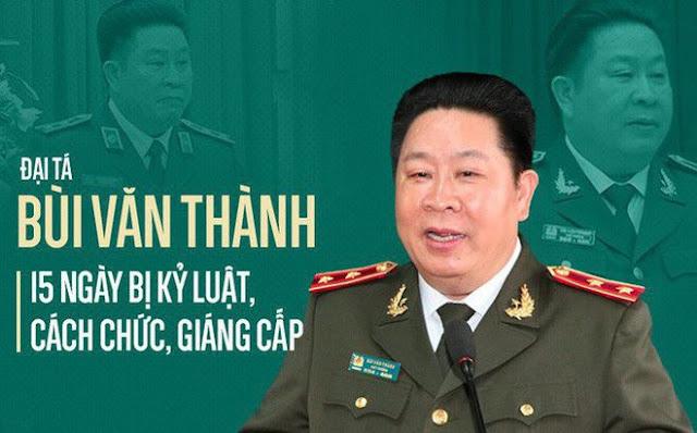 Bộ Công an khởi tố 2 Thứ trưởng Bộ Công an Trần Việt Tân và Bùi Văn Thành ảnh 4