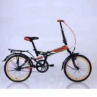 20 element 69 full suspension 1sp folding bike
