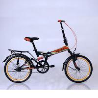 20 element 69 full suspension 1sp folding bike