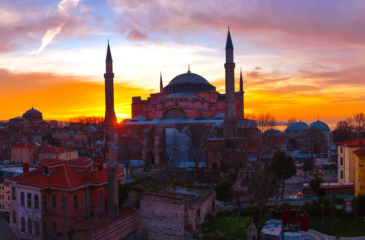 A Blue Mosque Skyscape, Istanbul, Turkey