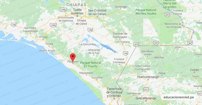 Temblor en México de Magnitud 5.3 (Hoy Sábado 23 Mayo 2020) Terremoto - Sismo - Epicentro - Pijijiapan - Chiapas - CHIS. - SSN - www.ssn.unam.mx