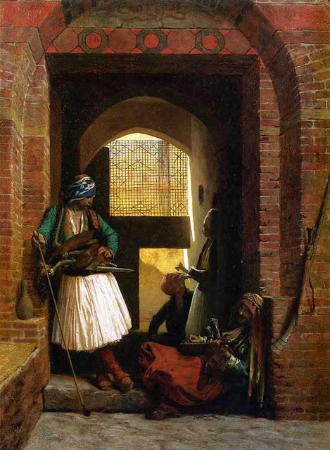 Albanesi a Cairo, Egitto 1880.