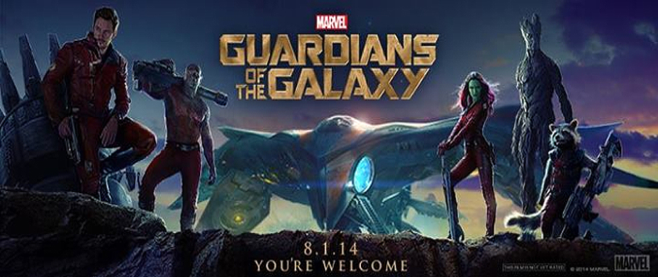 Guardians of the Galaxy - August 1, 2014 | A Constantly Racing Mind
