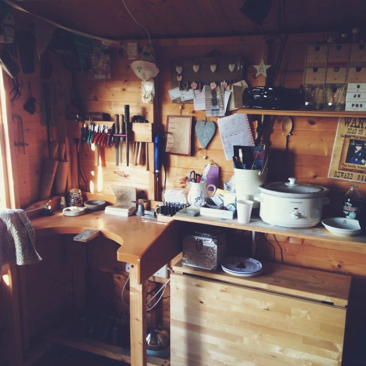 Silversmith's Workshop by The Silver Shed