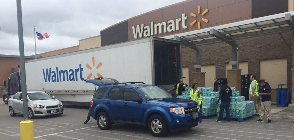Walmart Steps Up to Support Hurricane Harvey Victims with Impactful