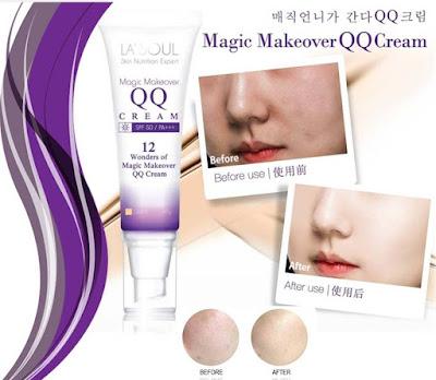 Jual Penghilang Flek Hitam Lasoul QQ Cream