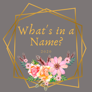 What's in a Name Challenge 2020 Logo
