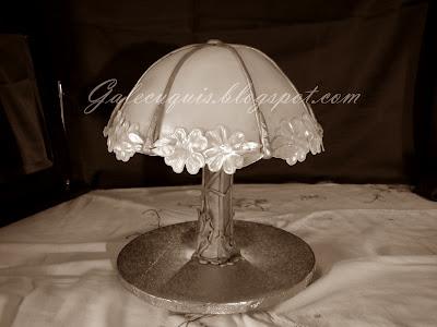 Tarta Lámpara, lamp cake