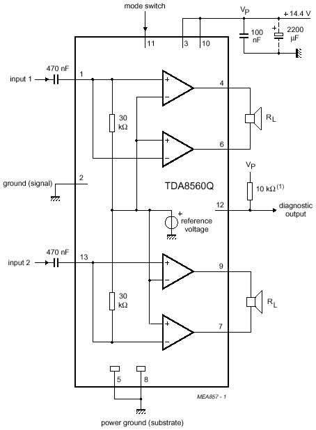 World Technical Simple 10w Audio Amplifier