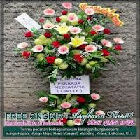 harga bunga standing flower di bekasi