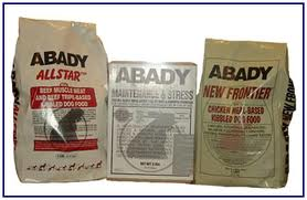 Abady Dog Food Ingrediants