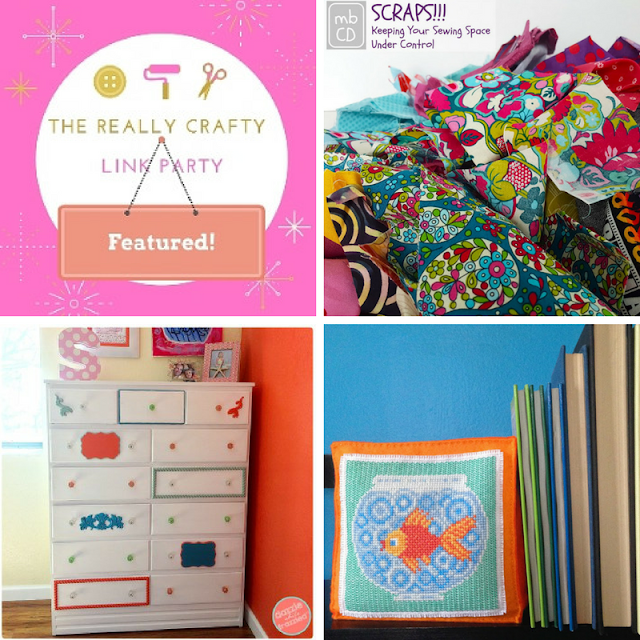 The Really Crafty Link Party #67 featured posts!