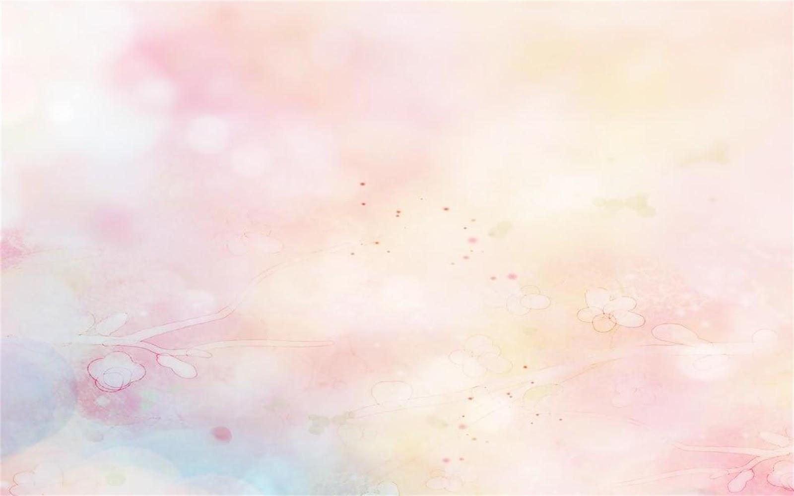 Watercolor peach background picture