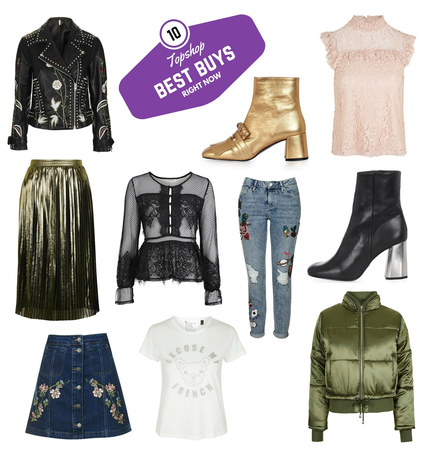 topshop fall collection best pieces