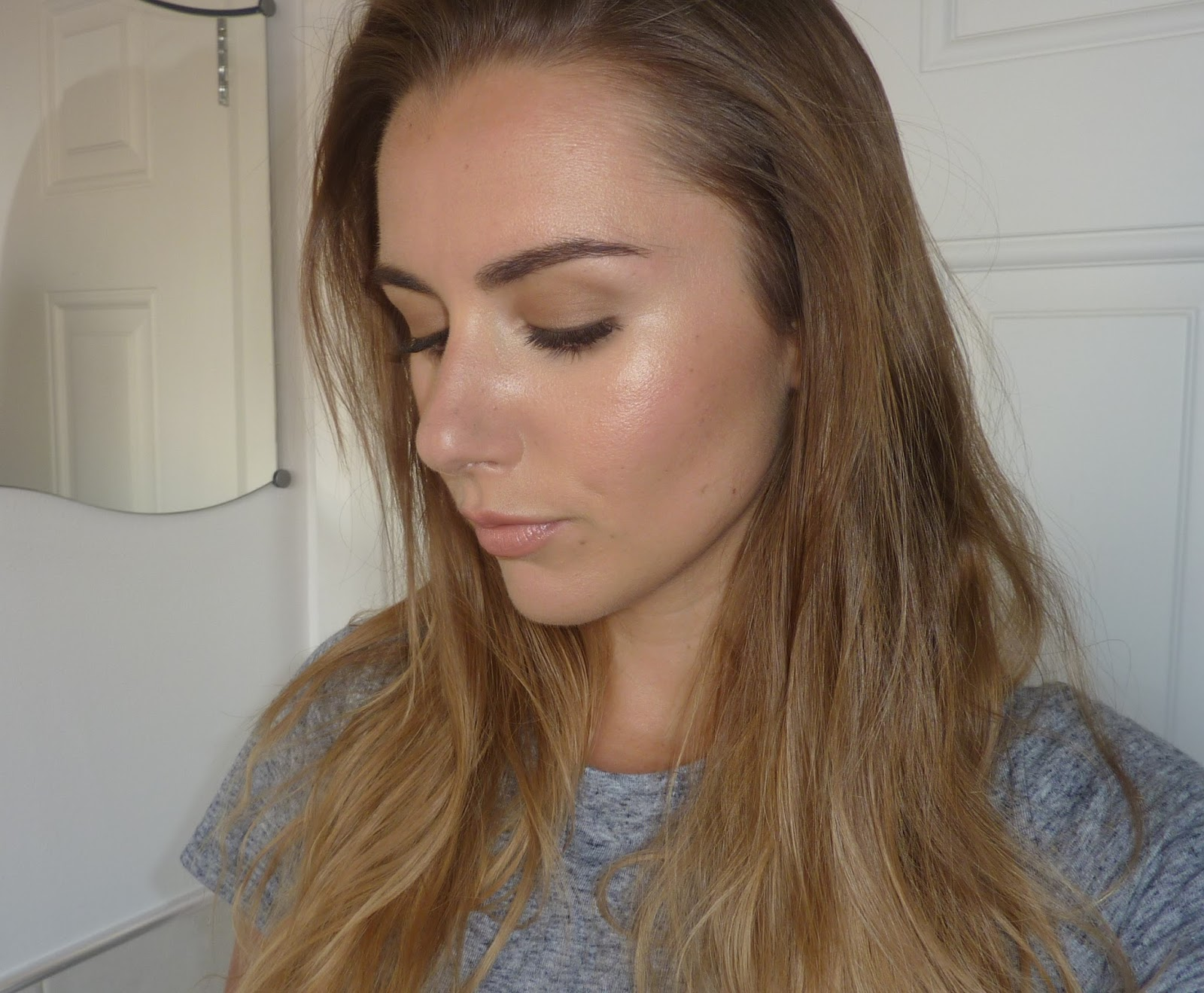 Beauty Amp Le Chic The Dewy Bronzy Peachy Look