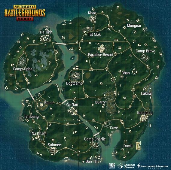 Urutan Map Dari yang Terbaik Hingga Terburuk di Game PUBG Mobile