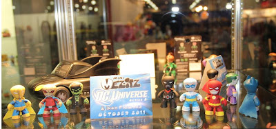 DC Universe Mini Mez-Itz Series 2 2-Packs by Mezco Toyz - The Flash & Captain Cold, Batman Beyond & Blight, and Doctor Fate & The Demon
