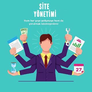 site yonetim yazilimi